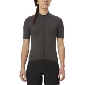 Giro New Road Maillot de cyclisme Femme, charcoal heather